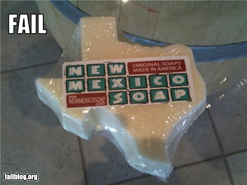 New Mexico Soap Fail