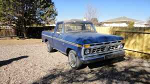 Albuquerque Craigslist Trucks: 1964 Ford F100, 1955 GMC, 1955 Chevy, 1936 Chevy and 1976 Ford F100