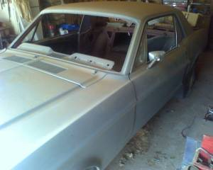 67 Ford Mustang project. - $3000