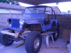 1947 Jeep CJ2A Project Trade - $4000
