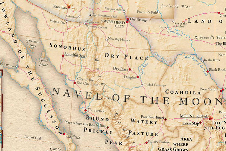 New Mexico Means New Navel of theMoon