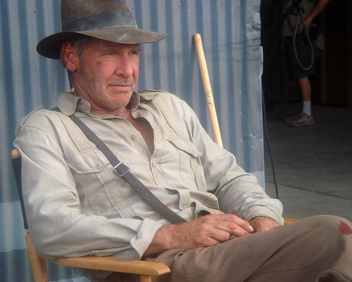 Yay! Indiana Jones Picture From Indy 4